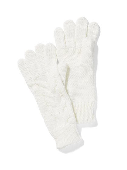 Cable Knit Gloves - New York & Company