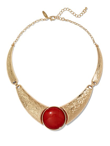 Cabochon Collar Necklace  - New York & Company