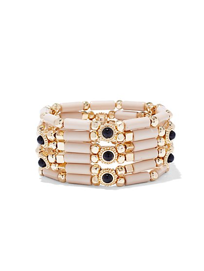Cabochon Stretch Bracelet  - New York & Company