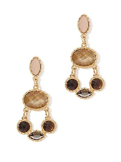 Cabochons Chandelier Drop Earring - New York & Company