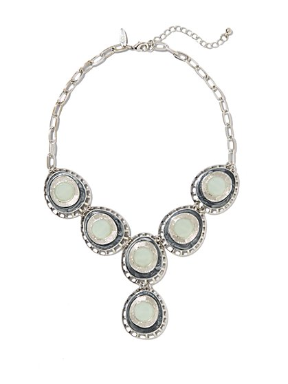 Cabochons Lariat Necklace - New York & Company