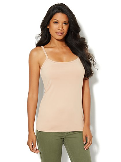 Camisole Shelf-Bra Shaper – Solid