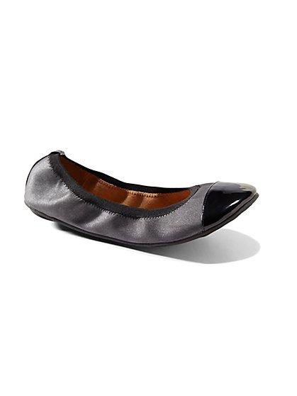 Cap-Toe Ballet Flat  - New York & Company