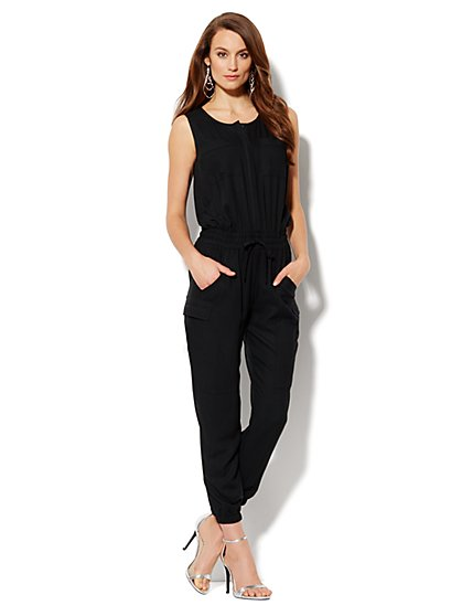 Cargo Jumpsuit - New York & Company