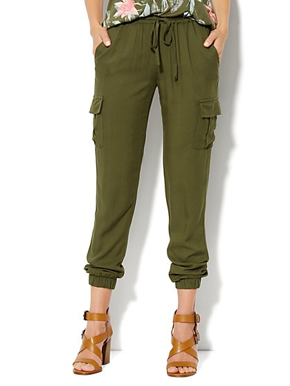 Cargo Soft Pant  - New York & Company