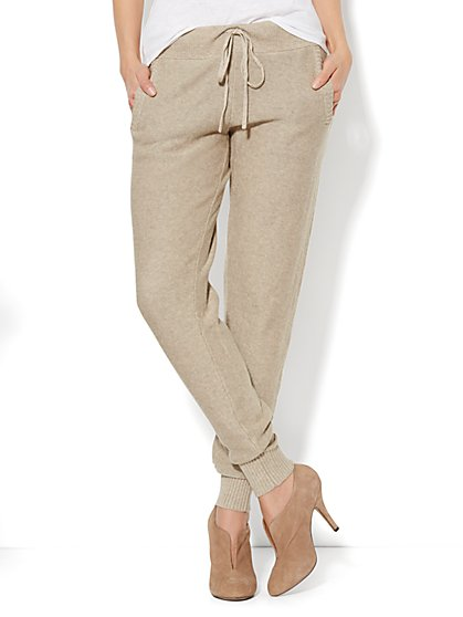 Cashmere Touch Jogger Pant - New York & Company