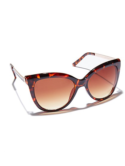 Cat-Eye Sunglasses - New York & Company