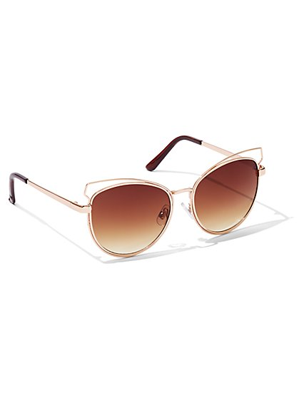 Cat's Eye Sunglasses  - New York & Company
