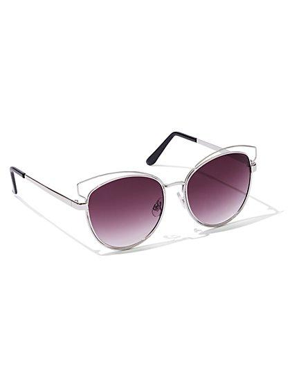 Cat's Eye Sunglasses  - New York & Company