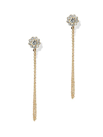 Chain Drop Earring  - New York & Company