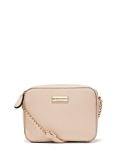 Chain-Handle Crossbody Bag  - New York & Company