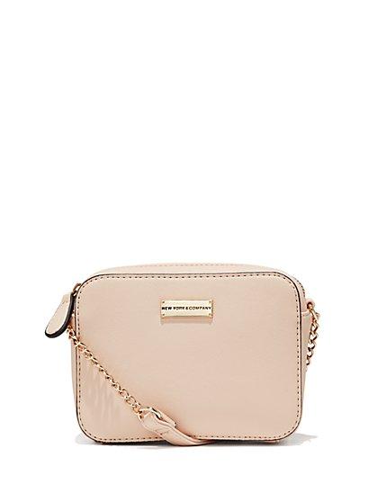 Chain-Handle Crossbody Bag  - New York & Company