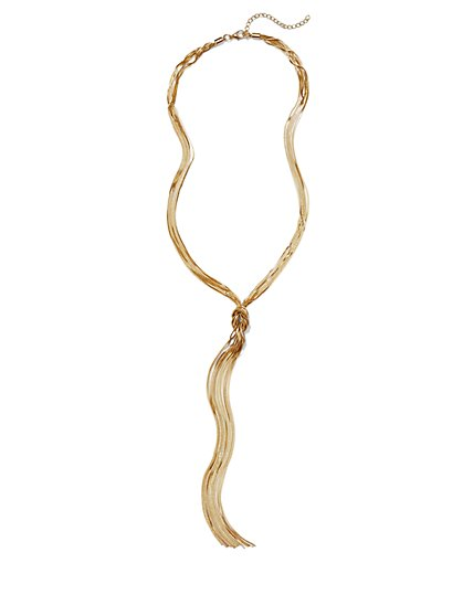 Chain Knot Pendant Necklace  - New York & Company