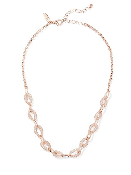 Chain-Link Collar Necklace  - New York & Company