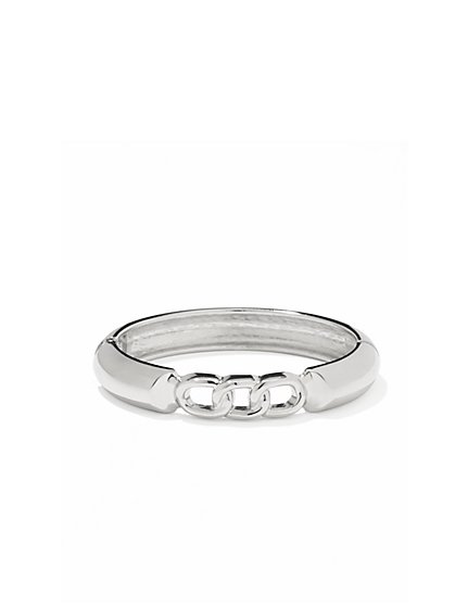 Chain-Link Hinge Bracelet   - New York & Company