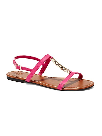 Chain-Link Sandal  - New York & Company