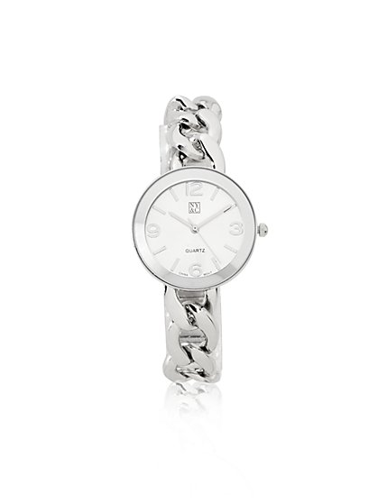 Chain-Link Strap Watch - New York & Company