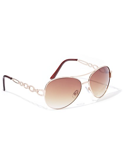 Chain-Link Sunglasses