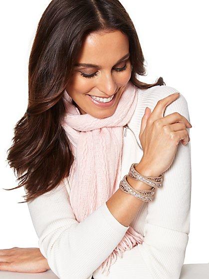 Chain-Link Wrap Bracelet  - New York & Company