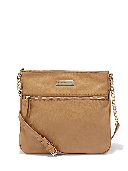 Chain-Strap Crossbody Bag  - New York & Company