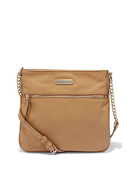 Chain-Strap Crossbody Bag  - New York & Company