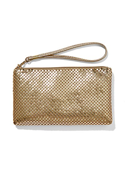 Chainmail Wristlet  - New York & Company