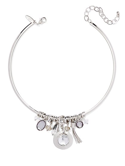 Charm Collar Necklace  - New York & Company