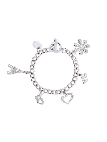 Charm Toggle Bracelet  - New York & Company