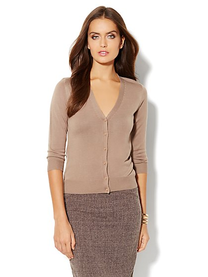 Chelsea Cardigan - V-Neck - New York & Company