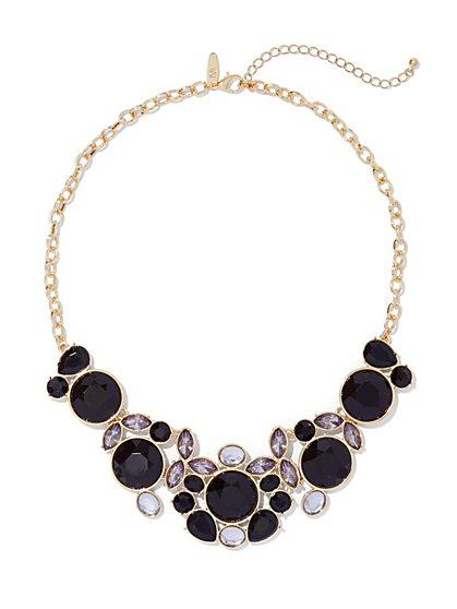Circular Bib Necklace  - New York & Company