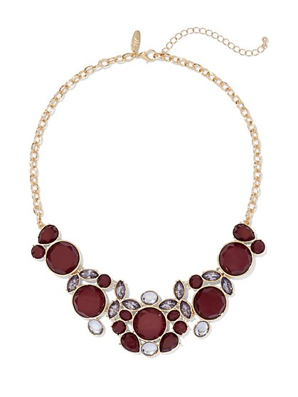 Circular Bib Necklace  - New York & Company