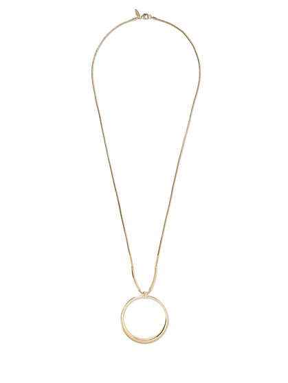 Circular Pendant Necklace  - New York & Company