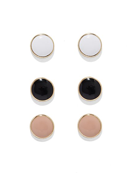 Circular Post Earring Set  - New York & Company