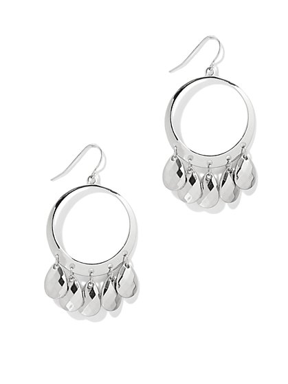 Circular Teardrop Earring   - New York & Company