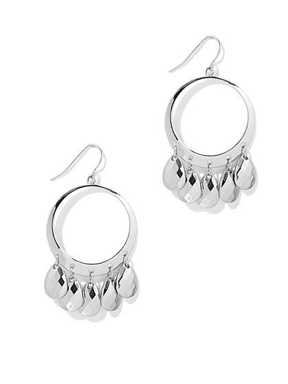 Circular Teardrop Earring   - New York & Company