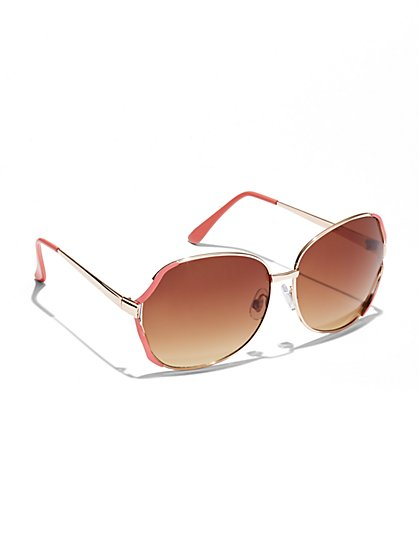 City Color Rim Sunglasses  - New York & Company