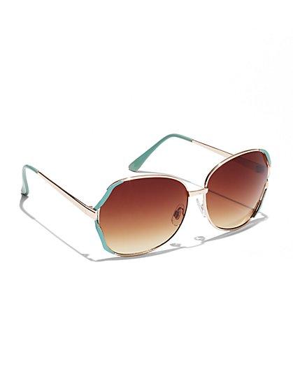 City Color Rim Sunglasses  - New York & Company