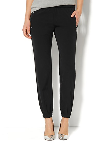 City Crepe - Jogger Soft Pant