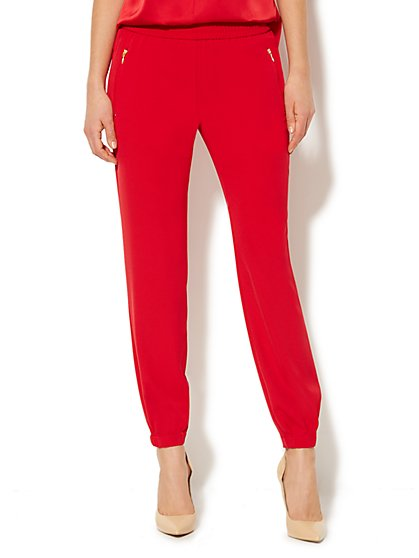 City Crepe - Jogger Soft Pant  - New York & Company