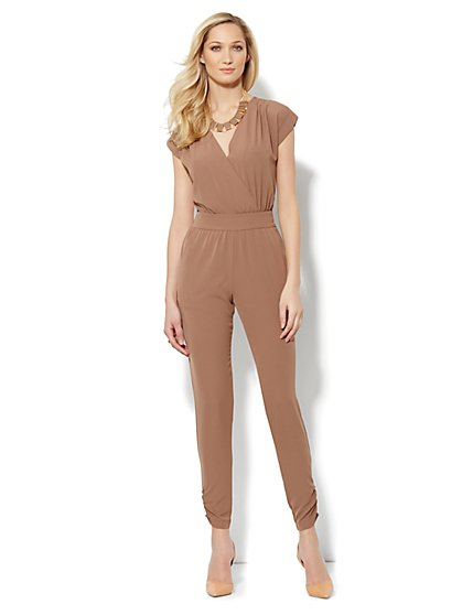 City Crepe - Soft Jumpsuit - Solid