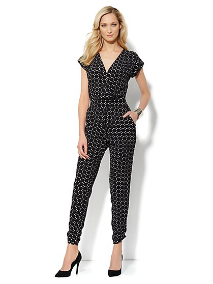 City Crepe - Soft Jumpsuit