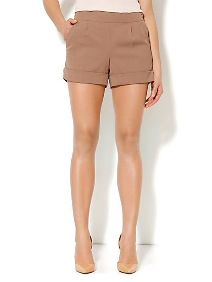 City Crepe - Soft Short - New York & Company