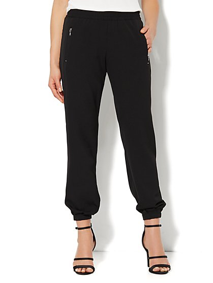 City Crepe - Solid Soft Pant - New York & Company