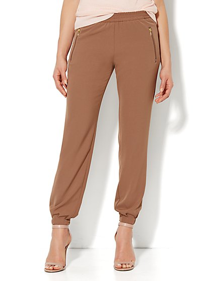 City Crepe - Solid Soft Pant