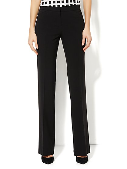 City Double Stretch Curvy Bootcut Pant - Tall