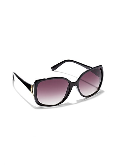 City Tear Temple Sunglasses - New York & Company