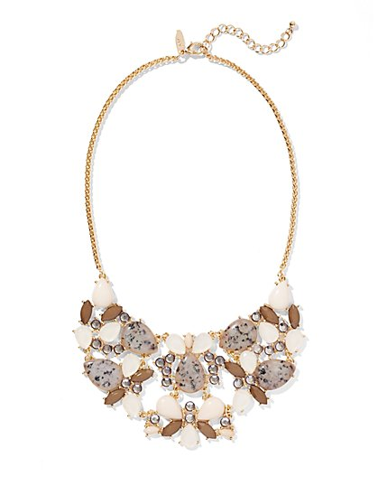 Cluster Bib Necklace  - New York & Company