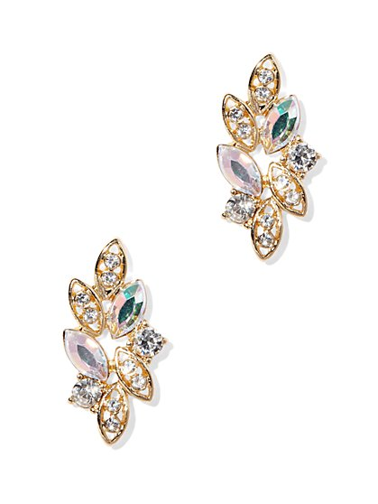 Cluster Post Earring  - New York & Company