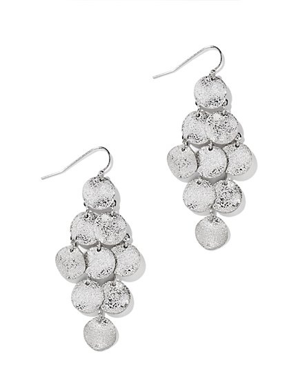Coin Chandelier Earring  - New York & Company