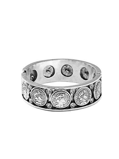 Coin Hinge Bracelet  - New York & Company
